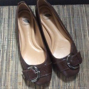 Nurture Slip On Shoes Brown